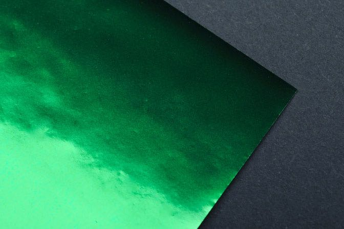 Green Foil Sample