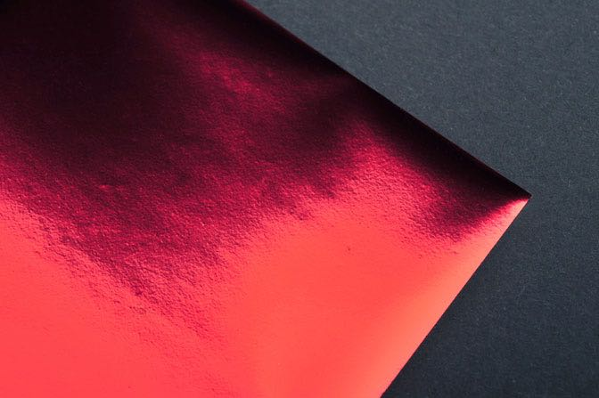 Red Foil Sample