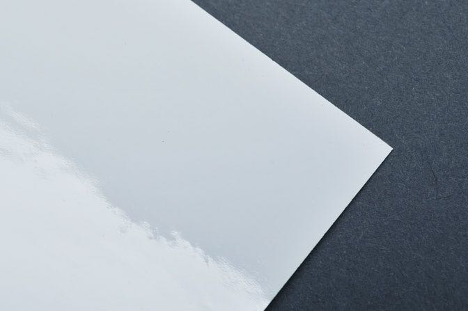White Foil Sample