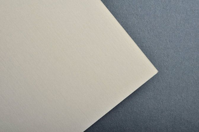 Cream Linen Business Card & Stationery Stock