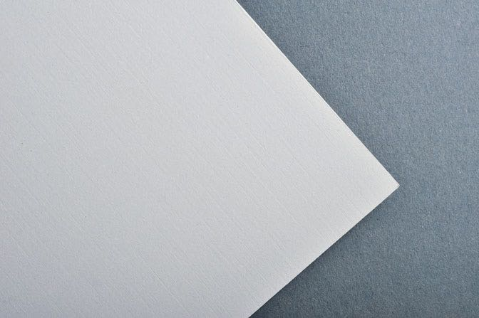 Frost Linen Business Card & Stationery Stock