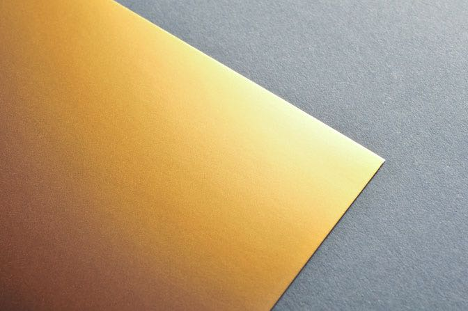 Gold Business Card Stock