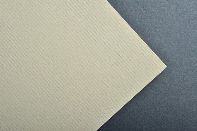 Ivory Laid Business Card & Stationery Stock