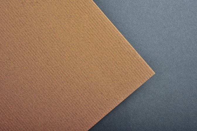 Peppered Bronze Classic Laid Business Card Stock
