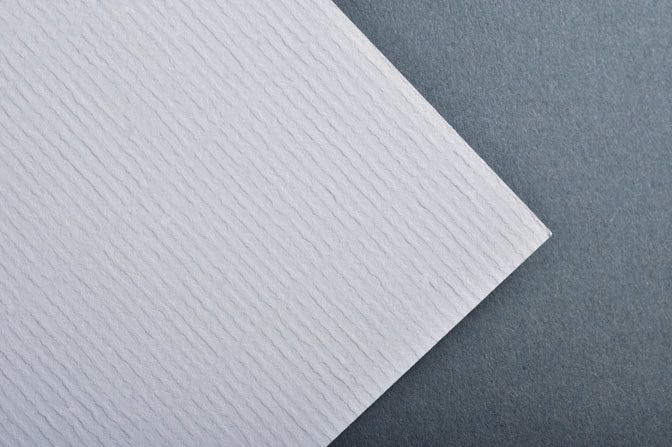 White Laid Business Card & Stationery Stock