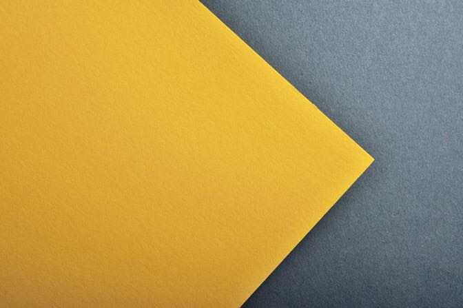 Yellow Astrobright Business Card Stock