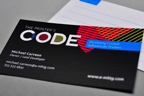 Full color business cards 140printers code 2 colourmoves