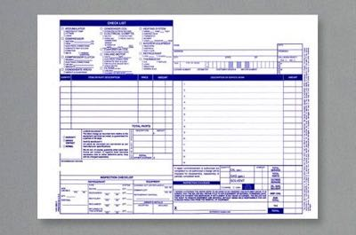 Auto Heating & A/C Forms