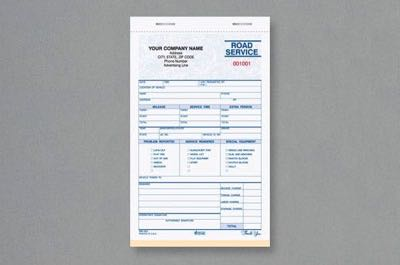 Road Service & Towing Forms