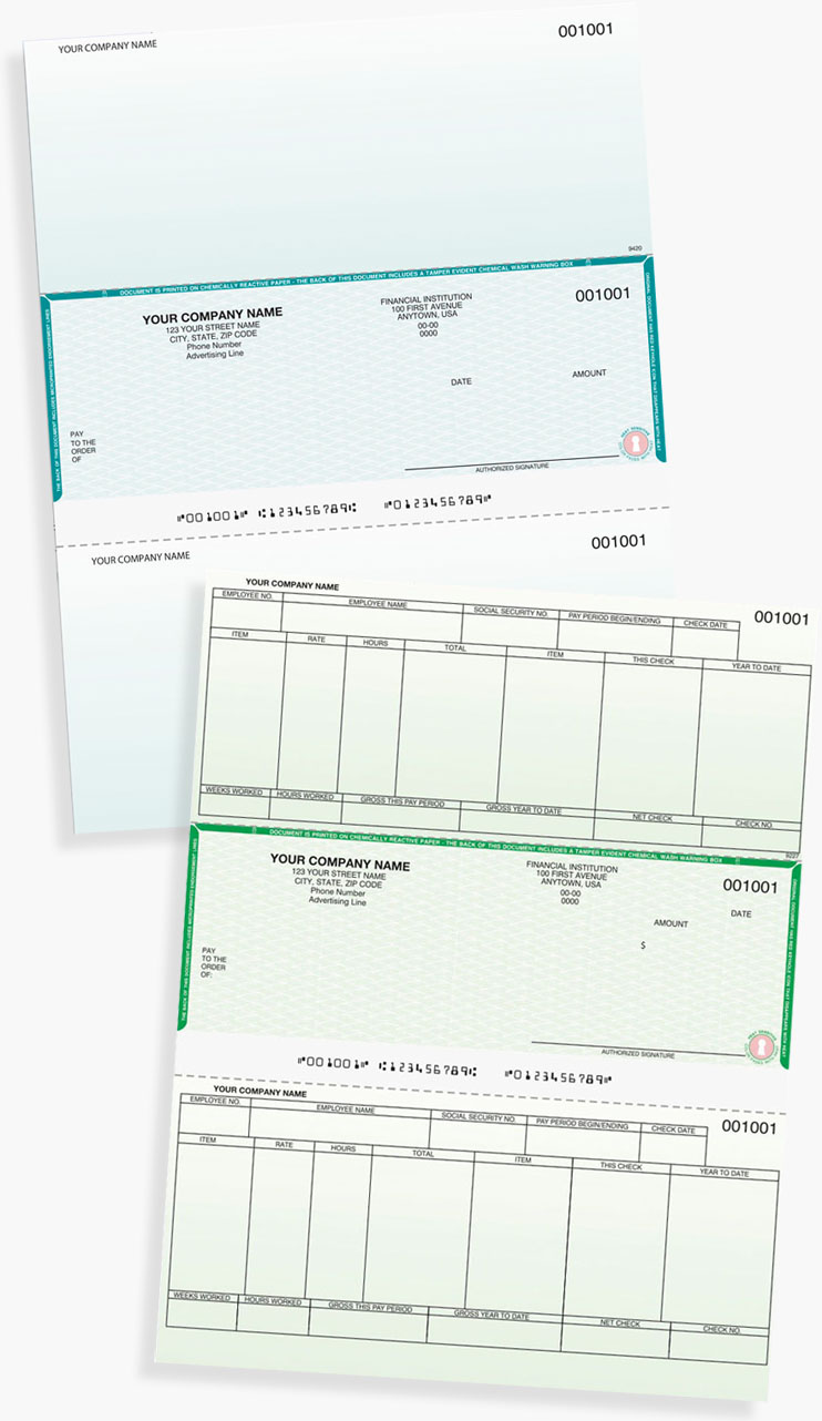 Sage Business Works AccountMate and Peachtree by Sage Check Samples